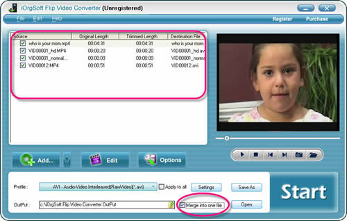 Flip Video Converter Screenshot